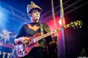 José Pazos, cantante y guitarrista de Futuro Terror (Funtastic Dracula Carnival, Benidorm, 2017)