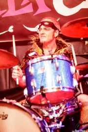 Eugeni Camacho, baterista de The Neanderthals (Funtastic Dracula Carnival, Benidorm, 2017)