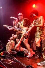 Juan Diego, bajista de The Neanderthals y Go-Go Girls (Funtastic Dracula Carnival, Benidorm, 2017)