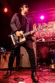 Mr. Bratto, guitarrista de Crackhouse (Funtastic Dracula Carnival, Benidorm, 2017)