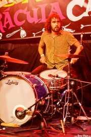 El Grasas, baterista de Crackhouse (Funtastic Dracula Carnival, Benidorm, 2017)