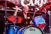 Tim E. Delicious, baterista de The Control Freaks (Funtastic Dracula Carnival, Benidorm, 2017)