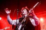 Bobby Beaton, cantante y guitarrista de The Gruesomes (Funtastic Dracula Carnival, Benidorm, 2017)
