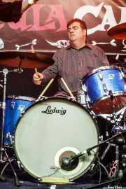 John Knoll, baterista de The Gruesomes (Funtastic Dracula Carnival, Benidorm, 2017)