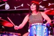 Lety Beers, baterista de The Schizophonics (Funtastic Dracula Carnival, Benidorm, 2017)