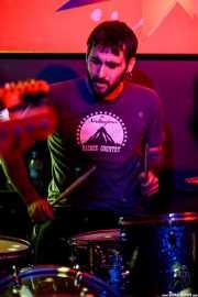 Julen Makazaga, baterista de The Northagirres (Shake!, Bilbao, 2017)