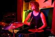 Jackson Kite, baterista de James McCann & The New Vindictives (Shake!, Bilbao, 2017)