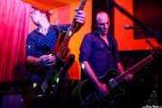 Chris Taranto -bajo- y  Tim Deane -guitarra- de James McCann & The New Vindictives (Shake!, Bilbao, 2017)