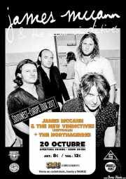 Cartel de James McCann & The New Vindictives (Shake!, Bilbao, )