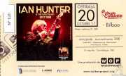 Entrada de Ian Hunter & The Rant Band (Kafe Antzokia, Bilbao, )