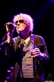 Ian Hunter, cantante y guitarrista de Ian Hunter & The Rant Band (Kafe Antzokia, Bilbao, 2017)