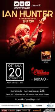 Cartel de Ian Hunter & The Rant Band (Kafe Antzokia, Bilbao, )