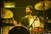 Aratz Etxeberria, baterista de Rural Zombies (BIME festival, Barakaldo, 2017)