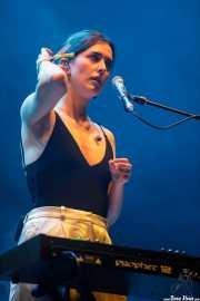 Julia Urreaga, cantante y teclista de Rural Zombies (BIME festival, Barakaldo, 2017)