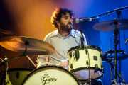 "Pablo González ""Pibli"", baterista de Pablo Und Destruktion (BIME festival, Barakaldo, 2017)"