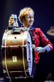Marco Moeller, percusionista (bombo) de Meute (BIME festival, Barakaldo, 2017)