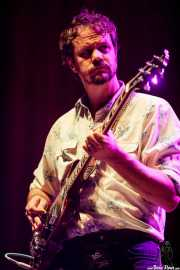 Matt Kinsey, guitarrista de Bill Callahan (BIME festival, Barakaldo, 2017)