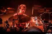 "Laurence \""Loz\"" Colbert, baterista de Ride (BIME festival, Barakaldo, 2017)"