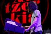 Mario Zamora, teclista y organista de Melange (BIME festival, Barakaldo, 2017)
