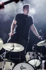 Jon Beavis, baterista de Idles (BIME festival, Barakaldo, 2017)