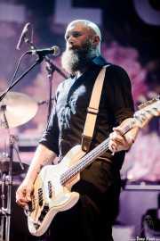 Adam Devonshire, bajista de Idles (BIME festival, Barakaldo, 2017)