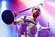 Joe Talbot, cantante de Idles (BIME festival, Barakaldo, 2017)
