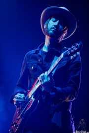 Joey McClellan, guitarrista de BNQT (BIME festival, Barakaldo, 2017)