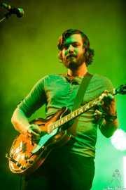 Eric Pulido, cantante y guitarrista de BNQT (BIME festival, Barakaldo, 2017)