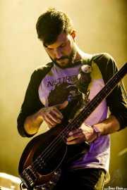 Alberto Tocados, bajista de Exquirla (BIME festival, Barakaldo, 2017)