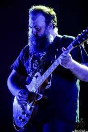 """David Maca """"Macón"""", guitarrista de Exquirla (BIME festival, Barakaldo, 2017)"""