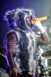 Maxim Reality, cantante de The Prodigy (BIME festival, Barakaldo, 2017)