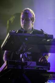 Liam Howlett, teclista y programaciones de The Prodigy (BIME festival, Barakaldo, 2017)