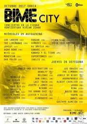 Cartel, BIME City 2017 (BIME festival, Barakaldo, )