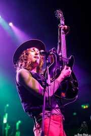 Matthew Paige, cantante y guitarrista de Blackfoot Gypsies (Kafe Antzokia, Bilbao, 2017)