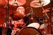 Rufus Tiger Taylor, baterista de The Darkness (Kafe Antzokia, Bilbao, 2017)
