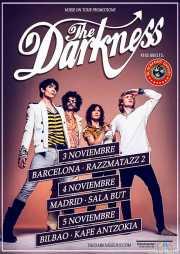 Cartel de The Darkness (Kafe Antzokia, Bilbao, )