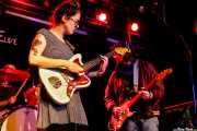 Sallie Ford -voz y guitarra- y Paul Hasenberg -teclado y guitarra- (Sala Stage Live (Back&Stage), Bilbao, 2017)
