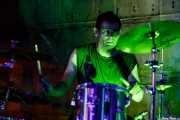 Chris Wrist, baterista de Cyanide Pills (Nave 9 (Museo marítimo), Bilbao, 2017)