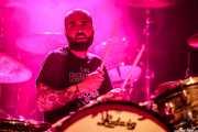 Edgar Beltri, baterista de The Lizards (Kafe Antzokia, Bilbao, 2017)