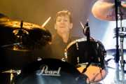 Andy Marvell, baterista de Jim Jones and The Righteous Mind (Santana 27, Bilbao, 2017)