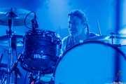 Peder Carlsson, baterista de Backyard Babies (Santana 27, Bilbao, 2017)