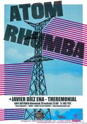 Cartel de Atom Rhumba (Kafe Antzokia, Bilbao, )