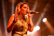 Xandra de la Vega, cantante, xilofonista y ukelele de Mud Candies (Santana 27, Bilbao, 2017)