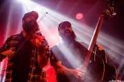 Goiatz Dutto -violín invitado- y Victor Martín -contrabajo- de Mud Candies (Santana 27, Bilbao, 2017)
