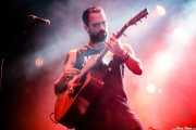 """Guillermo Santibáñez """"Will"""", guitarrista, cantante y banjista de Mud Candies (Santana 27, Bilbao, 2017)"""