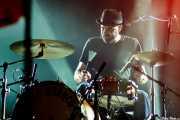 Iñigo Elexpuru, baterista de Mud Candies (Santana 27, Bilbao, 2017)