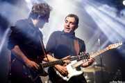 Fernando Macaya -guitarra- y Hendrik Röver -voz y guitarra- de Los DelTonos (Santana 27, Bilbao, 2017)