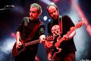 Fernando Macaya -guitarra- y Pablo Z Bordas -bajo- de Los DelTonos (Santana 27, Bilbao, 2017)