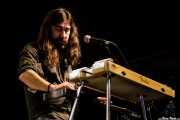 Daniel Merino, lap steel guitar de Dead Bronco (Santana 27, Bilbao, 2017)