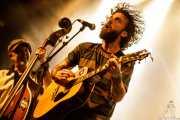 Matt Horan -voz y guitarra- y Oscar Calleja -contrabajo- de Dead Bronco (Santana 27, Bilbao, 2017)